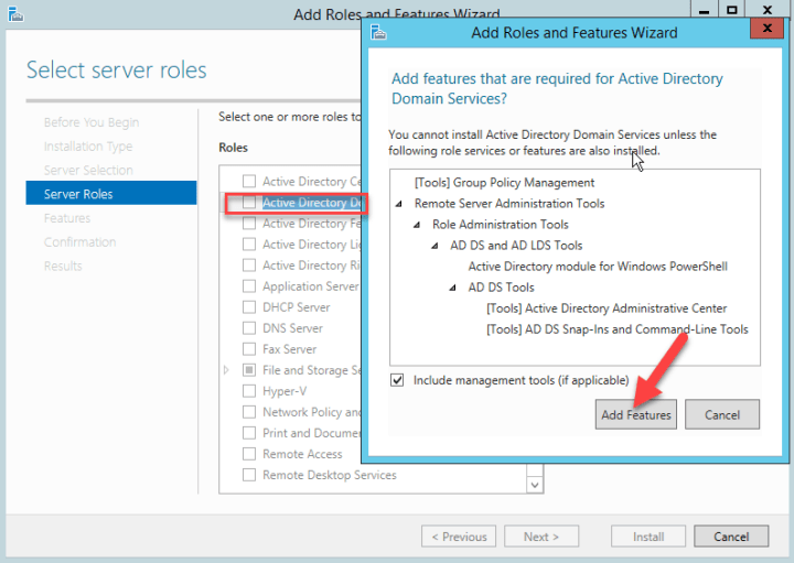 Active Directory role
