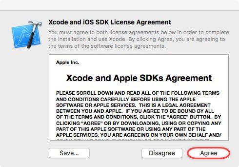 XCode - Installation