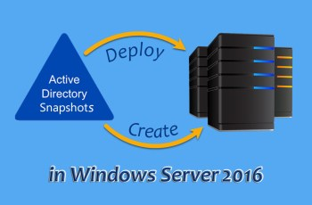 Create-Deploy-AD-Snapshot-in-Windows-Server-2016