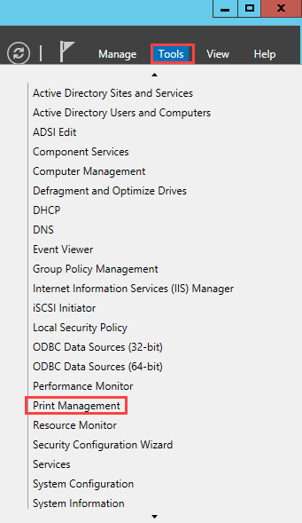Server Manager