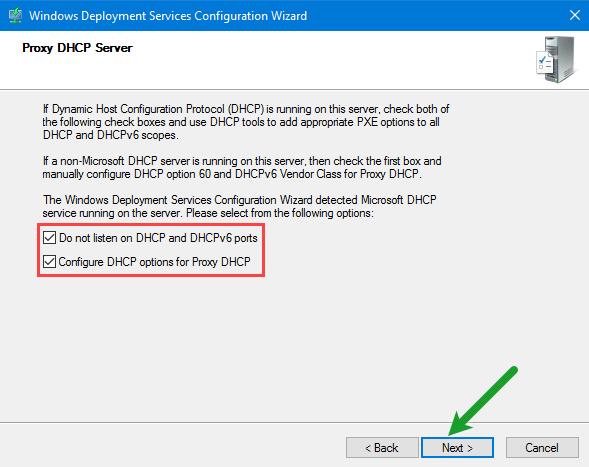 Proxy DHCP Server