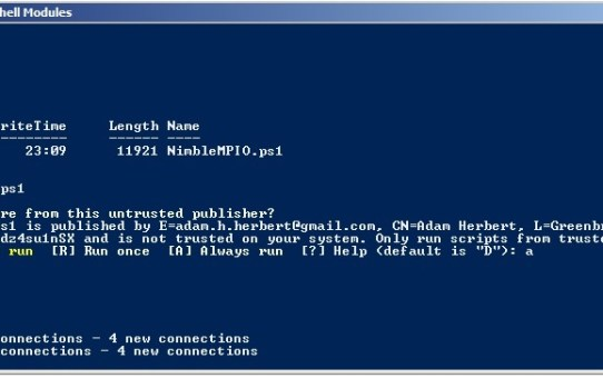iSCSI-MPIO-4 Windows 2008 R2 - Enhancing the Nimble iSCSI Connection with MPIO