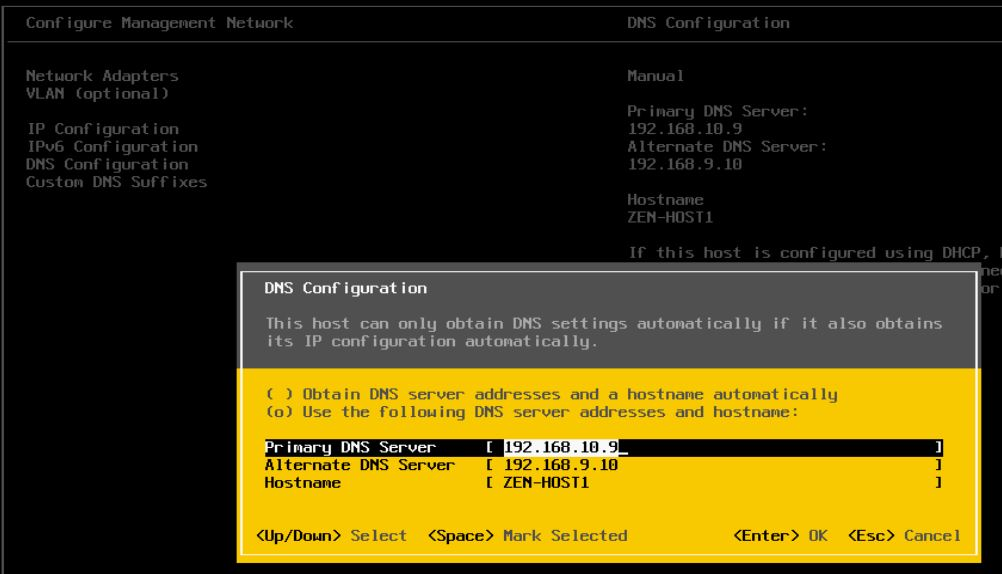 Change-DNS Issues Upgrading HP VMware ESXi Host from 5.0 to 5.5 Update 1b Solved