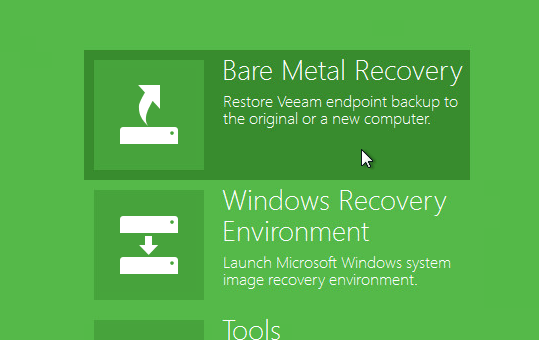 endpoint_recovery Veeam Agents for Microsoft Windows and Linux Pricing - First look