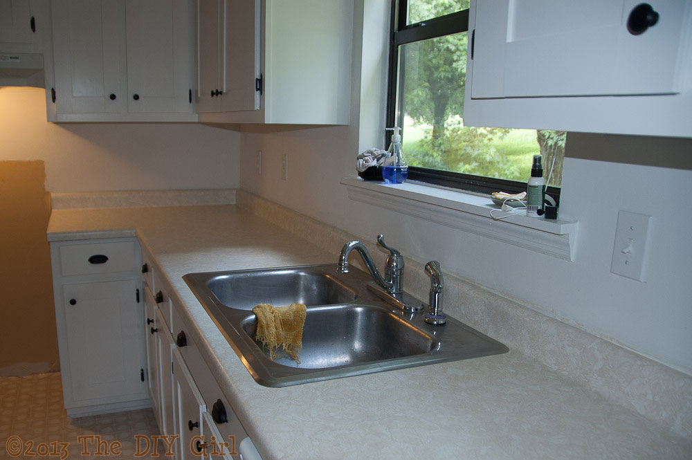 Giani Granite Counter Top : Countertop fix giani granite paint part the diy girl