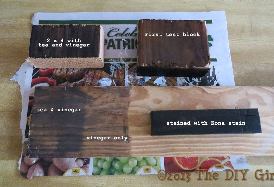 Can You Tea Stain Painted Wood