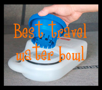 Waterboy travel water bowl - The DIY Girl