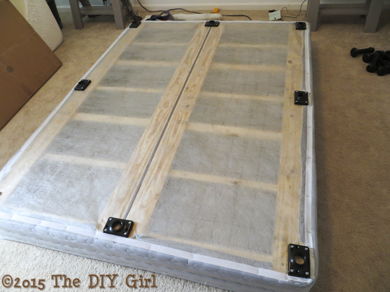 Bed Legs Alternative To Bed Frame The Diy Girl