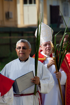 Passion Sunday 2011 - Diocese of Georgetown, Guyana