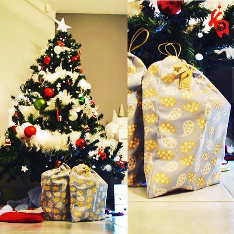 Des sacs cadeaux zéro déchet