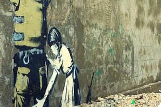 Isreal Bethlehem Banksy Street Art