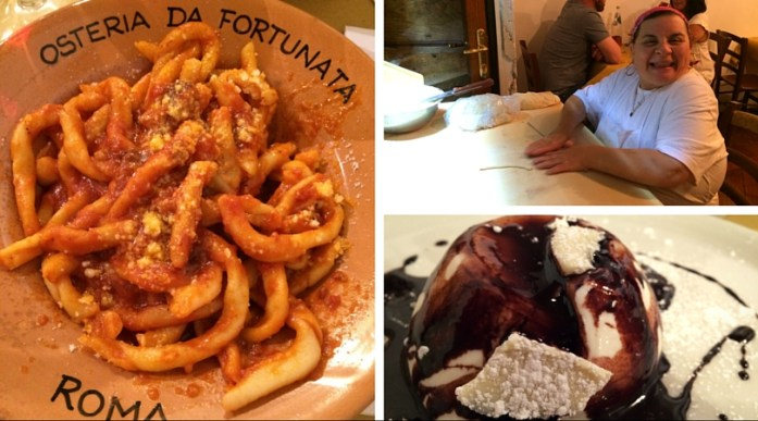 Nachtisch in Osteria di Fortunta