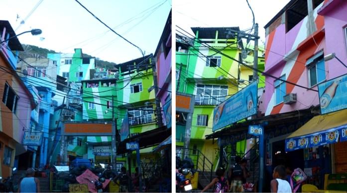 Favela Painting in Santa Marta, Rio de Janeiro