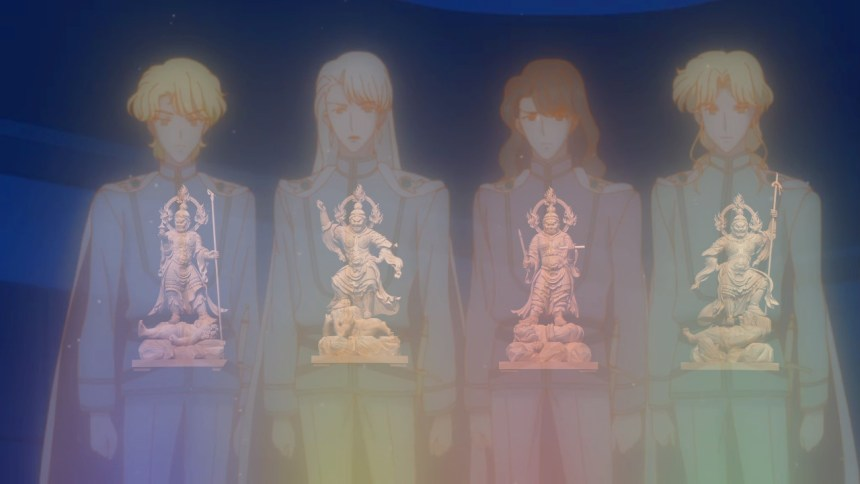 The Four Kings and Their Buddhist Counterparts