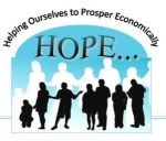HOPE program logo: Helping Ourselves to Prosper Economically