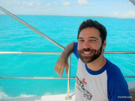 Serenity. This is what I look like after SCUBA diving in beautiful Turks & Caicos