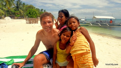 my new friends on Malapascua island, Philippines