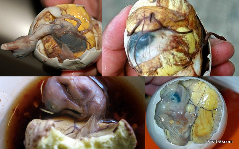 Balut - the one thing in Asia I wouldn't eat.