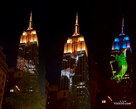 Endangered Animals on Empire State Building -004