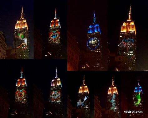 Endangered Animals on Empire State Building -005