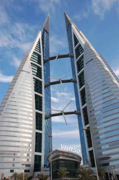 Bahrain World Trade Center - Visit50