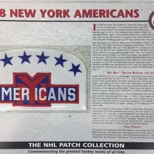 1938 New York Americans Patch NHL Hockey Willabee & Ward Official Jersey Patch