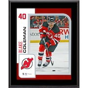 "Blake Coleman New Jersey Devils Fanatics Authentic 10.5"" x 13"" Sublimated Player Plaque"