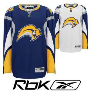 Buffalo Sabres RBK Edge Premier Hockey Jersey- Senior
