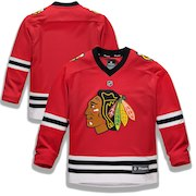 Chicago Blackhawks Fanatics Branded Youth Home Replica Blank Jersey - Red