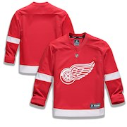 Detroit Red Wings Fanatics Branded Youth Home Replica Blank Jersey - Red