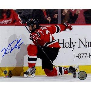 Kyle Palmieri Signed New Jersey Devils Goal Celebration 8x10 Photo