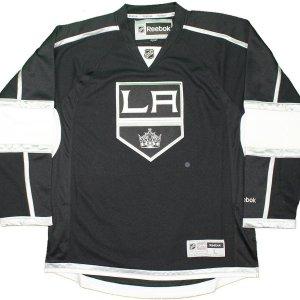 Los Angeles Kings Black Reebok Premier Jersey (Size L)