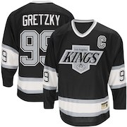 Men's Los Angeles Kings Wayne Gretzky CCM Black Heroes of Hockey Authentic Throwback - Jersey