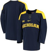 Michigan Wolverines Nike Replica Hockey Jersey - Navy