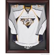 Nashville Predators Mahogany Framed Jersey Display Case