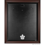 Toronto Maple Leafs Fanatics Authentic (2016-Present) Brown Framed Logo Jersey Display Case