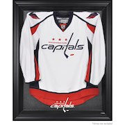 Washington Capitals Black Framed Logo Jersey Display Case