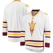 Arizona State Sun Devils adidas Hockey Jersey - White
