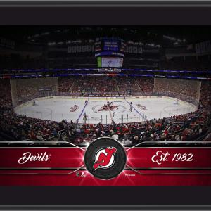 "New Jersey Devils 10"" x 13"" Sublimated Team Stadium Plaque"