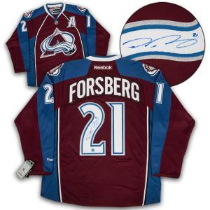 Peter Forsberg Signed Jersey - Reebok Premier