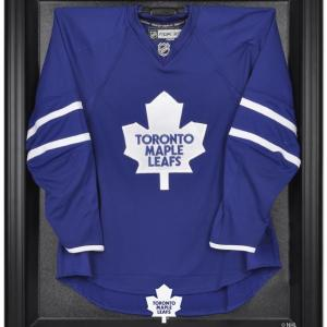Toronto Maple Leafs (1970-2016) Black Framed Logo Jersey Display Case