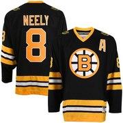 CCM Boston Bruins #8 Cam Neely Black Heroes of Hockey Jersey