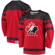Canada Hockey Nike 2018 Winter Olympics IIHF Replica Jersey - Red