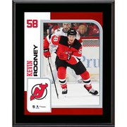 """Kevin Rooney New Jersey Devils Fanatics Authentic 10.5"""" x 13"""" Sublimated Player Plaque"""