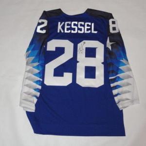 Amanda Kessel Signed 2018 Olympics Team Usa Hockey Jersey Pyeongchang Coa - JSA Certified