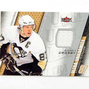 2009-10 Ultra Uniformity Sidney Crosby #UUSC Jersey Card