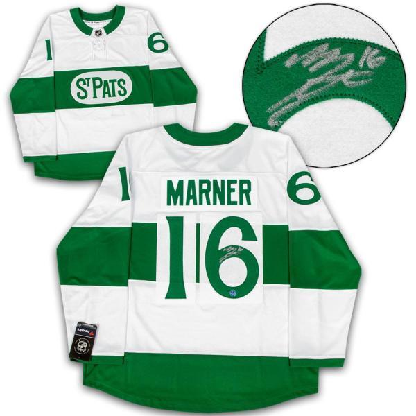 competitive price 57a15 295b8 Mitchell Marner Signed Jersey - Mitch St Pats Heritage Fanatics