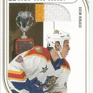 Stephen Weiss Fl Panthers 2002-03 In The Game Jersey Card 2 Color