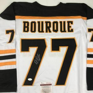 Ray Bourque Signed Jersey - Yellow COA - JSA Certified