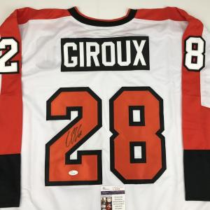 new style a9934 4330e Claude Giroux Signed Jersey - White JSA COA · The World ...